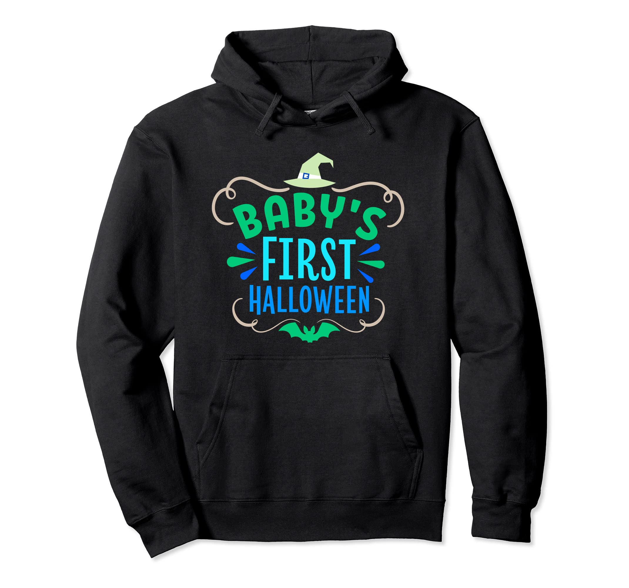 Baby's First Halloween - Not Just For Kids Hoodie-Rose