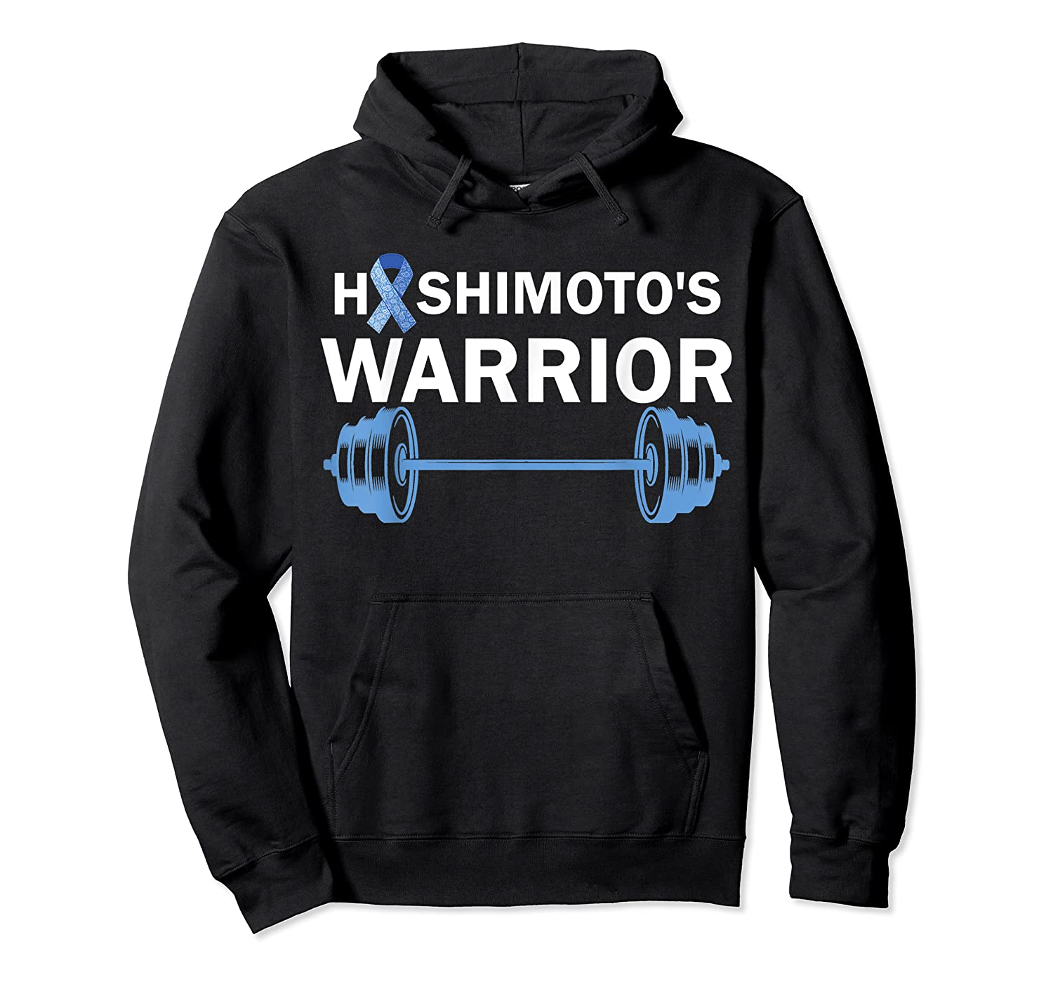 Hashimoto's Warrior Thyroid Disease Support Shirts Unisex Pullover Hoodie