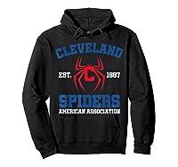 Cleveland Spiders Shirt Baseball Fan T-shirt Hoodie Black