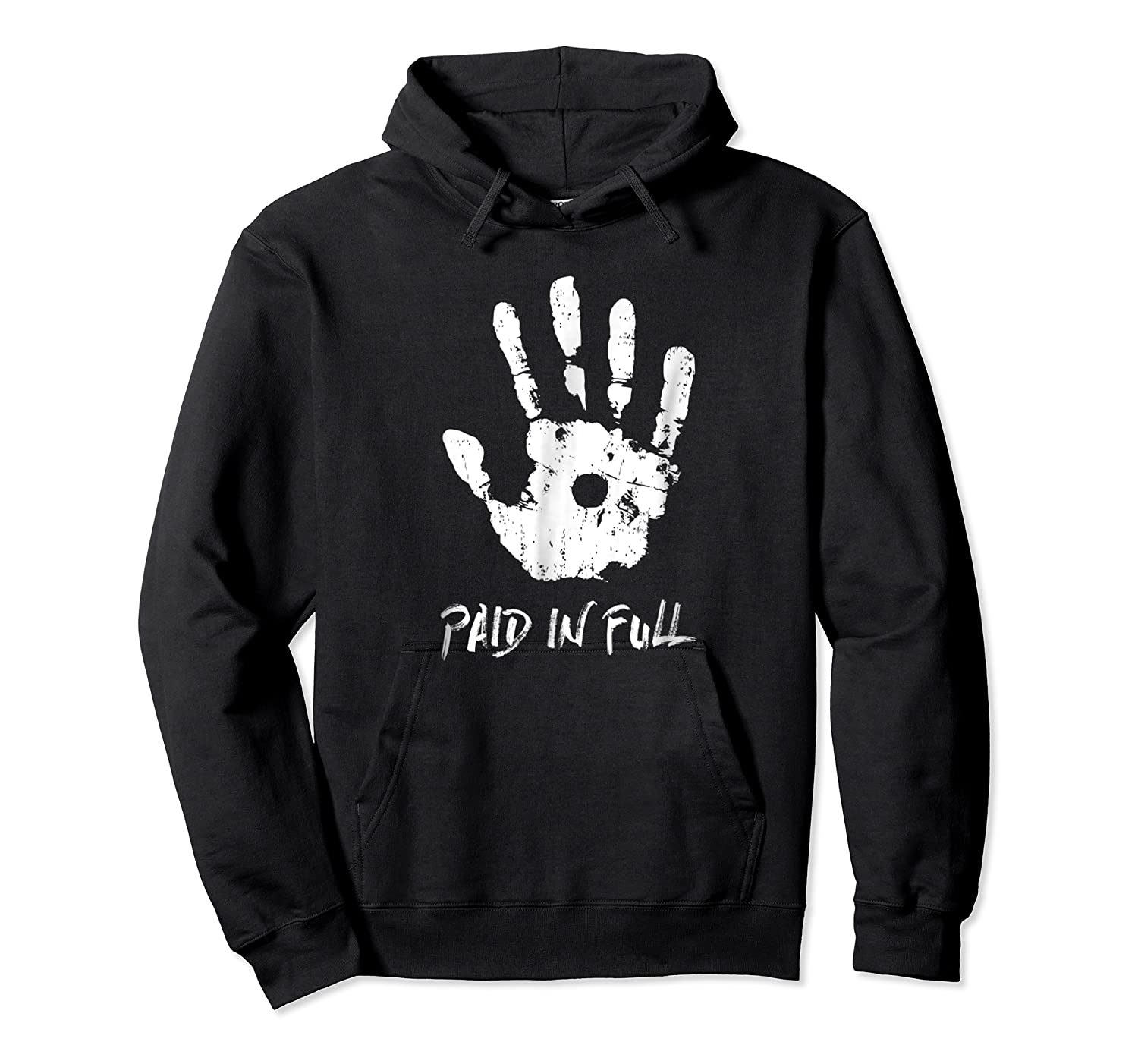 Jesus Hand Print, Paid In Full Christian Faith Shirts Unisex Pullover Hoodie