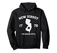New The Garden State Vintage New Home Shirts Hoodie Black
