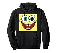 Nickelodeon Spongebob Open Smile Face T-shirt Hoodie Black
