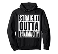 Straight Outta Pa City Shirt Hoodie Black