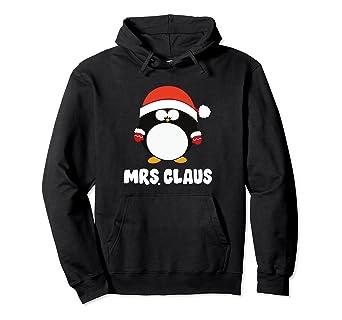 e1608fd78b Amazon.com  Mrs Claus Hoodie Pajamas Pjs Mama Costume Mommy Santa ...