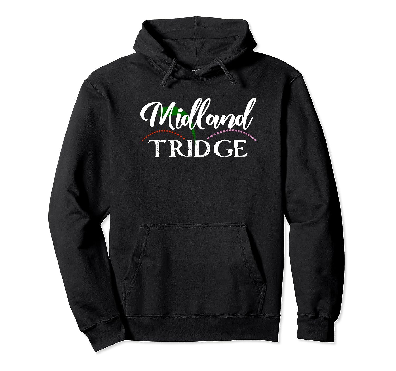 Midland Mi Shirt Tridge Michigan T Shirt City Of Midland Unisex Pullover Hoodie