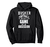 Nebraska Cornhuskers Husker Football Apparel Shirts Hoodie Black