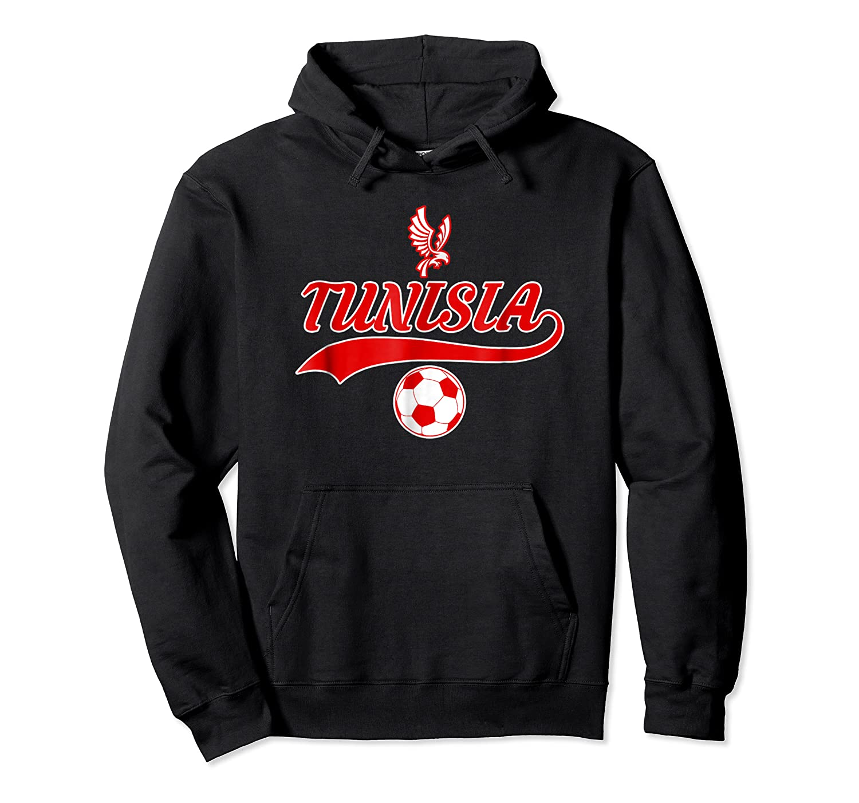 Tunisia Team World Fan Soccer 2018 Cup Fan T Shirt Unisex Pullover Hoodie