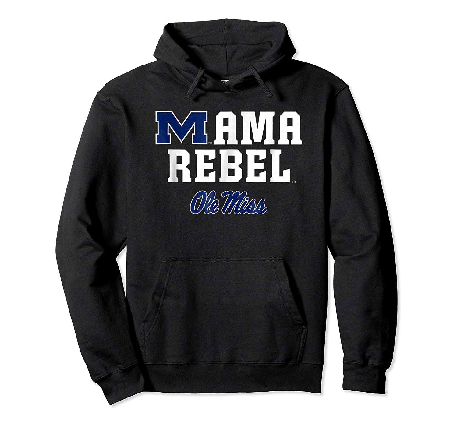 Ole Miss Rebels Mama Mascot T-shirt - Apparel Unisex Pullover Hoodie