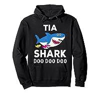 Tia Shark Doo Doo Doo Matching Family Shirts Hoodie Black