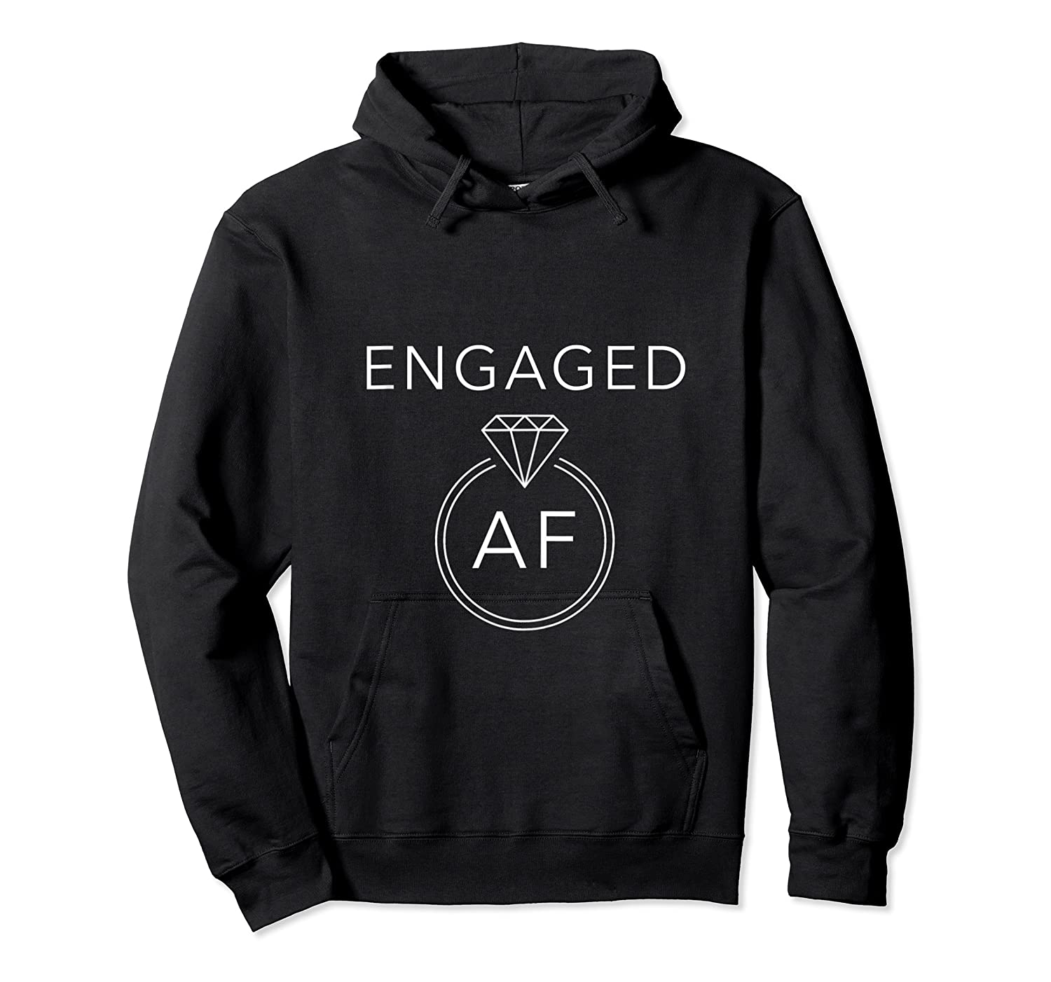 Engaged Af Tank Top Shirts Unisex Pullover Hoodie