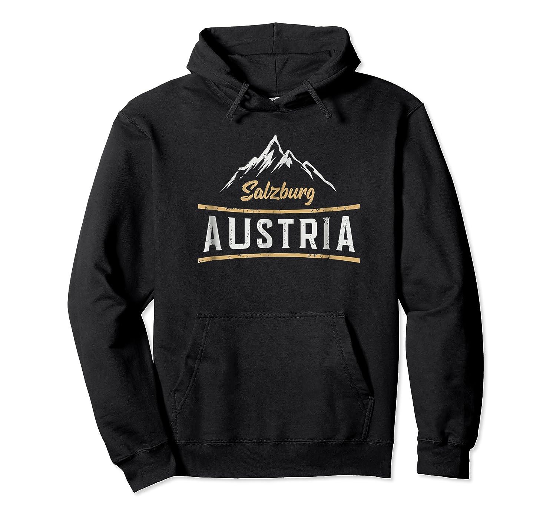 Austria Salzburg Skiing Vacation Shirts Unisex Pullover Hoodie