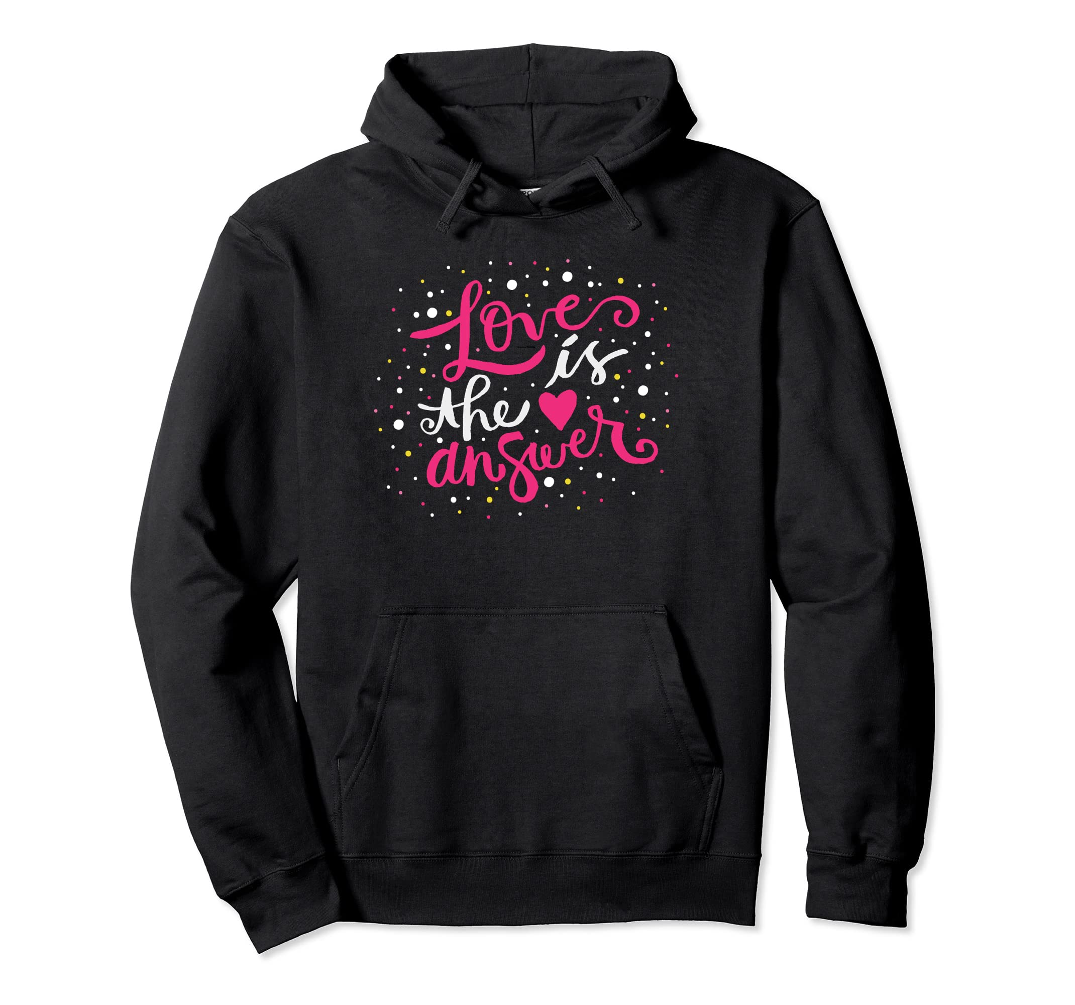 Hoodies With Quotes About Love  Hooded Love Sweatshirt