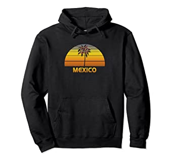 Christmas Vacation In Mexico.Amazon Com Mexico Hoodie Top Christmas Vacation Palm Tree