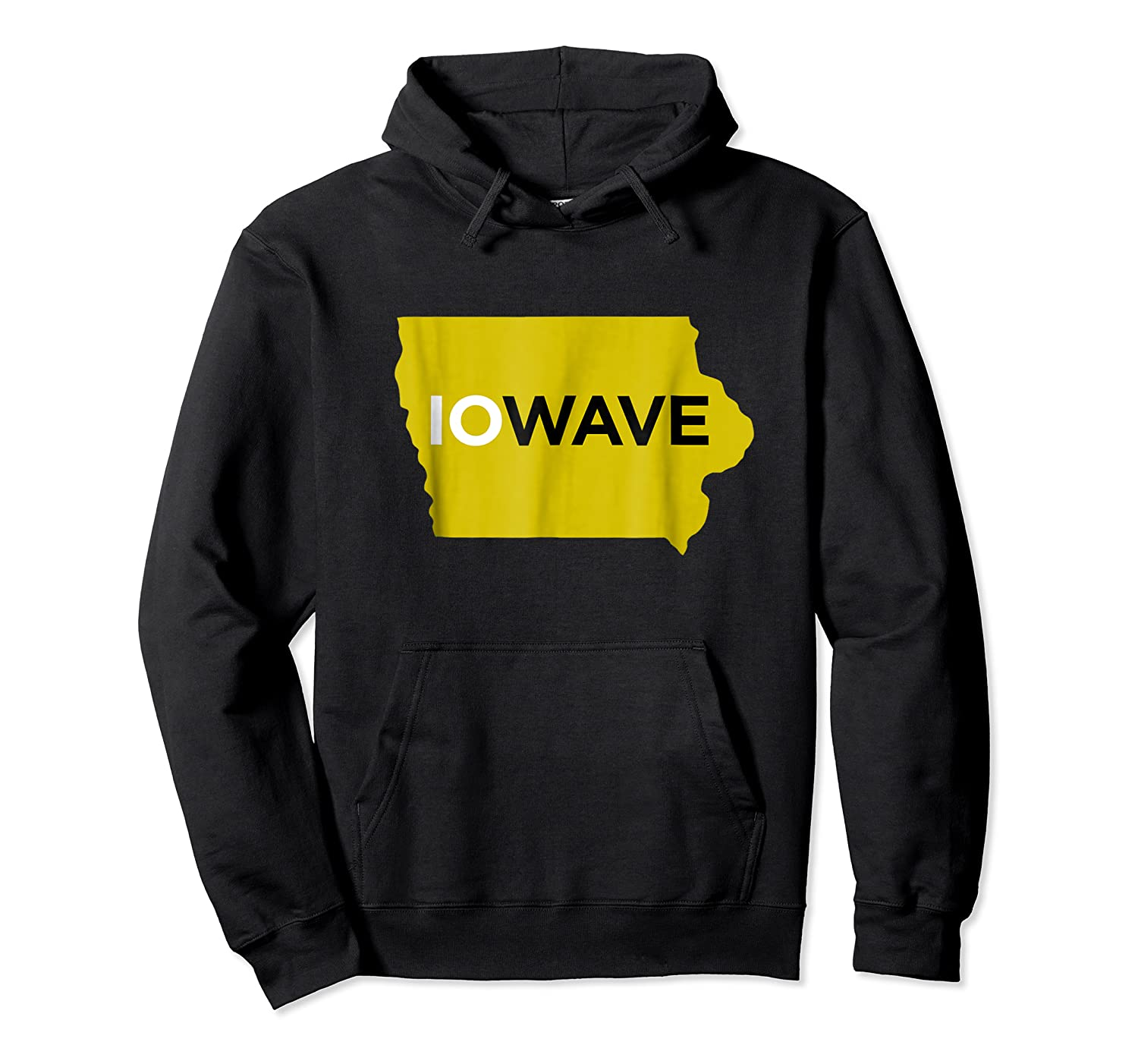 State Of Iowa Iowave Wave T For Fans And Residents Shirts Unisex Pullover Hoodie