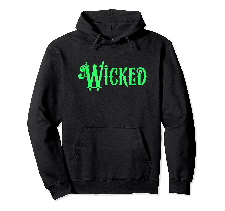 Wicked Halloween T-shirt Unisex Pullover Hoodie