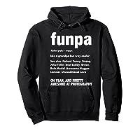 Funpa Photography Fun Grandpa Funny Gift Tshirt Hoodie Black