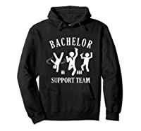S Bachelor Shirt Gamer Shirt Bachelor Team Support T Shirt Hoodie Black
