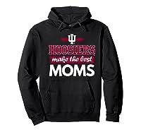 Indiana Hoosiers Indiana University Best Moms Shirts Hoodie Black
