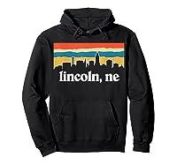 Lincoln Nebraska Shirt Hoodie Black