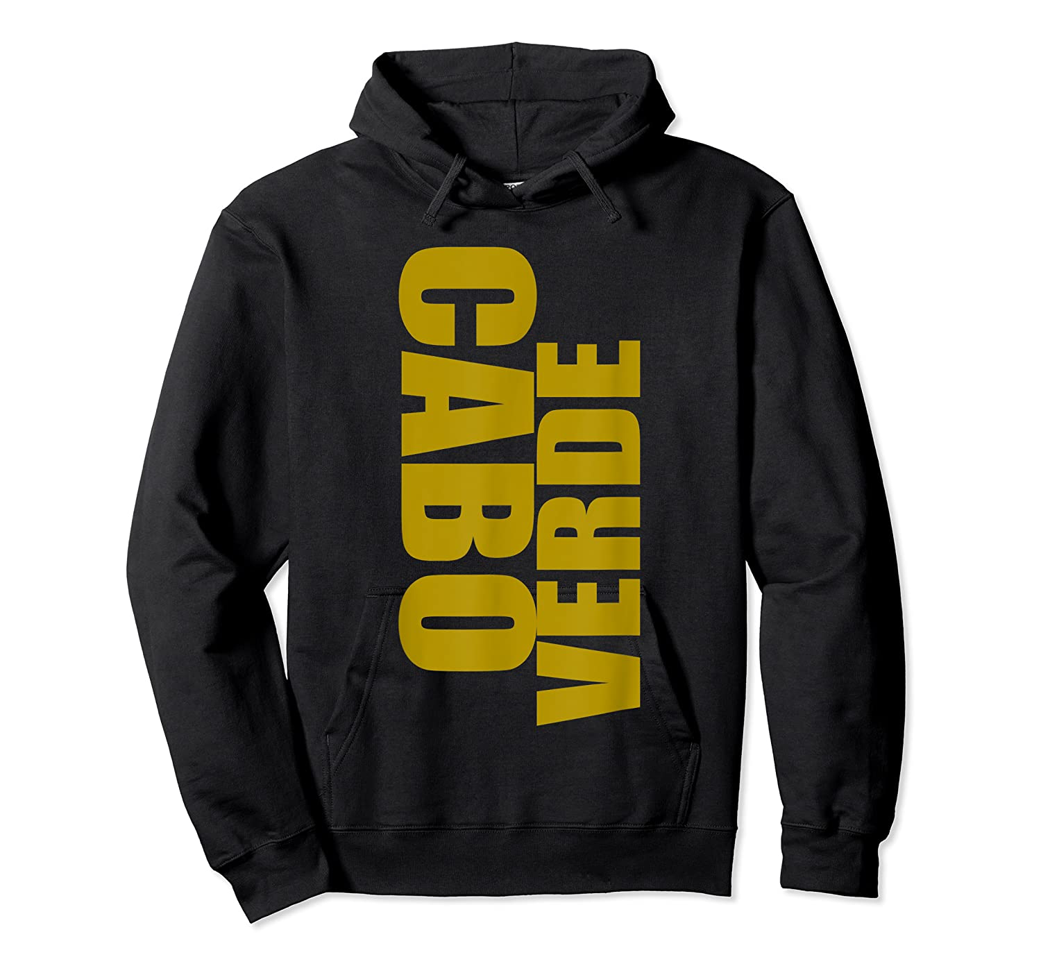 Cabo Verde Side Words Shirts Unisex Pullover Hoodie