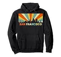San Francisco City T-shirt, Souvenir Ca Retro Vintage Shirt Hoodie Black