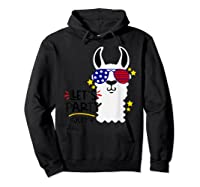 Funny Patriotic Independence Day Shirts Hoodie Black