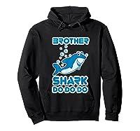 Baby Shark Doo Doo Doo Boy Family Brother Shark Shirts Hoodie Black