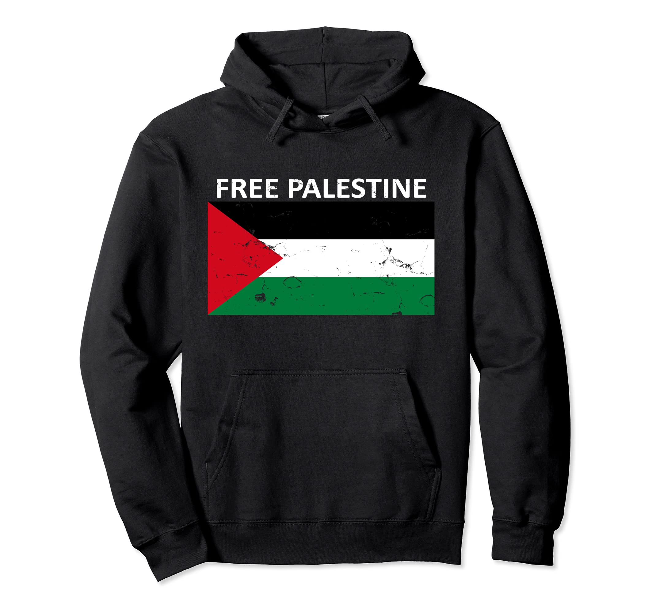 25cb9c722 Amazon.com: Free Palestine Hoodie Fist of Palestine Shirt: Clothing