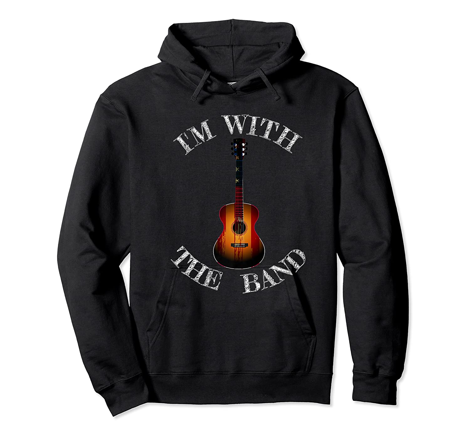 M With The Band Shirts Unisex Pullover Hoodie