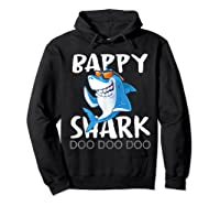Bappy Shark, Fathers Day Gift From Wife Son Daughter Shirts Hoodie Black