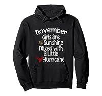 Birthday Gift Idea. Sunshine Hurricane Funny Quote Shirts Hoodie Black