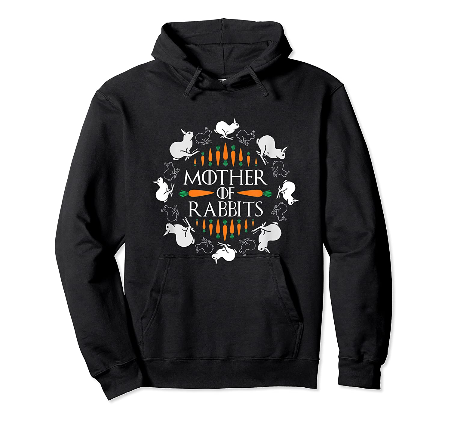 Rabbit Lovers Mother Of Rabbits Cute Bunny T-shirt Unisex Pullover Hoodie