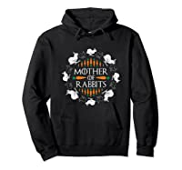 Rabbit Lovers Mother Of Rabbits Cute Bunny T-shirt Hoodie Black