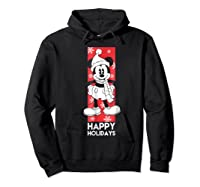Disney Mickey Mouse Chilling T Shirt Hoodie Black