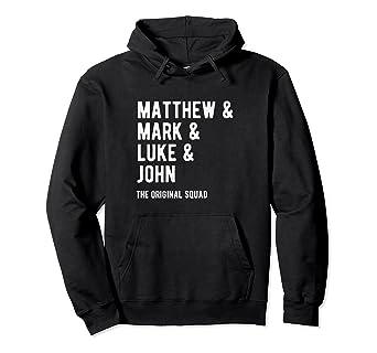 Matthew, Mark, Luke and John