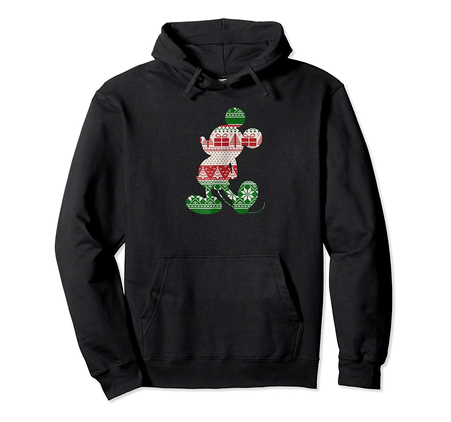Disney Mickey Silhouette Sweater T Shirt Unisex Pullover Hoodie