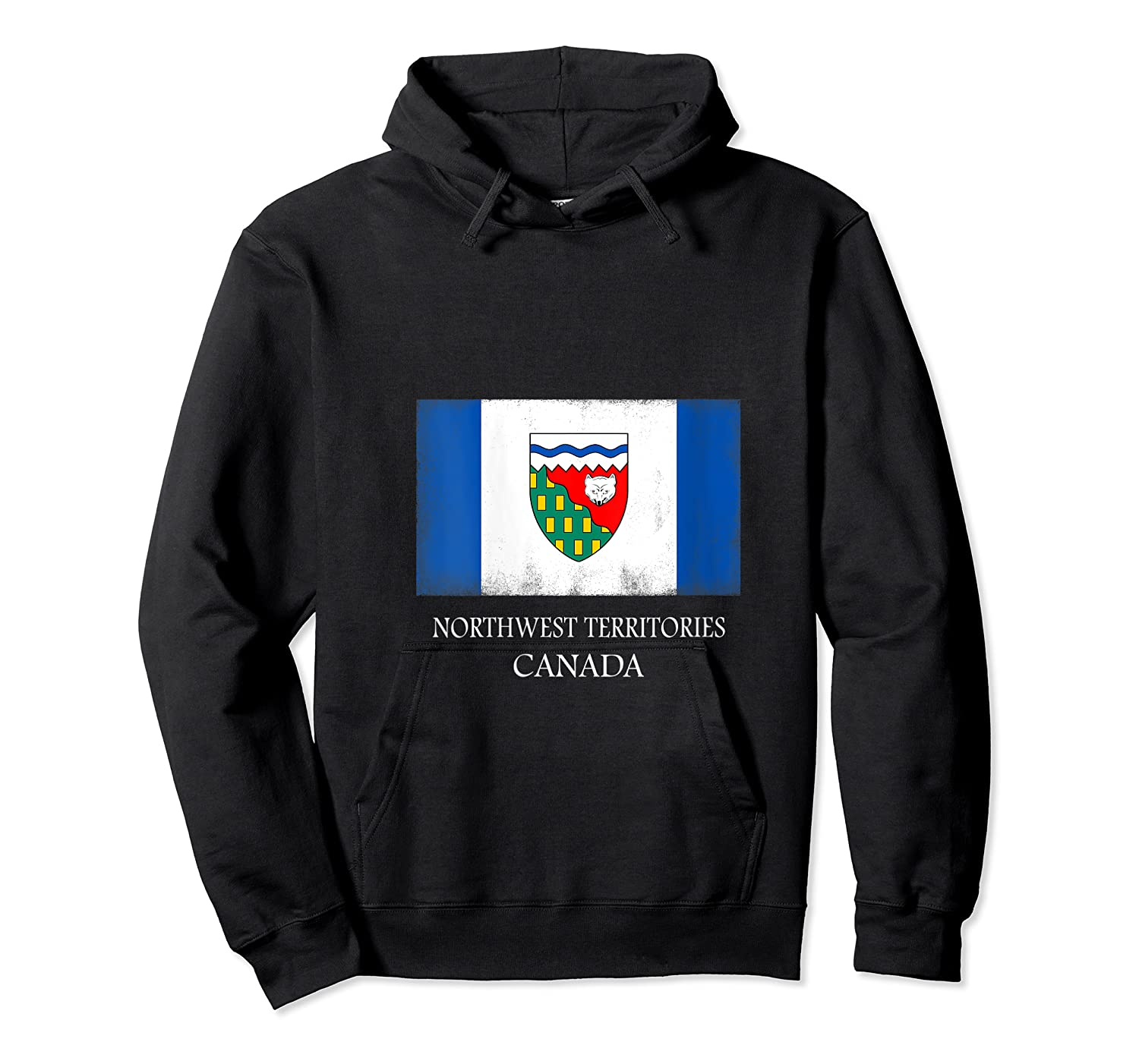 Northwest Territories Canada Province Canadian Flag Shirts Unisex Pullover Hoodie