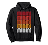Miami Miami Miami T-shirt Hoodie Black