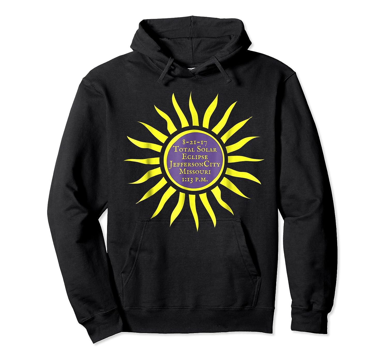 Jefferson City Mo Total Solar Eclipse Shirt Aug 21 Sun Tee Unisex Pullover Hoodie