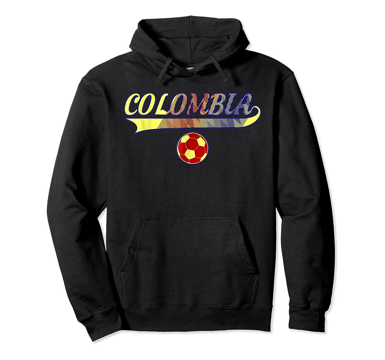 Colombia Team World Fan Soccer 2018 Cup Fan T Shirt Unisex Pullover Hoodie