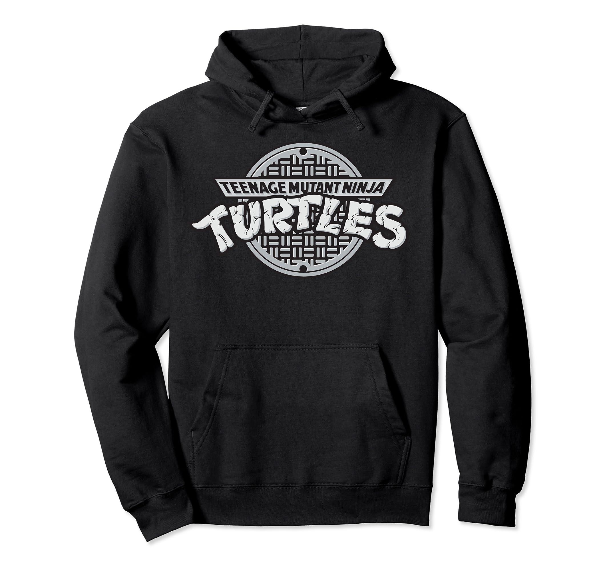 Amazon.com: Teenage Mutant Ninja Turtles TMNT Sewer Logo ...