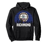 Richmond Virginia T Shirt Va Group City Trip Silhouette Flag Hoodie Black