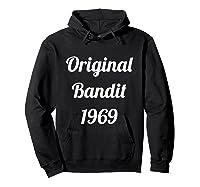 Original Bandit 1969 Retro T Shirt Hoodie Black