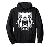 Pit Bull Face T For Pitbull And Apbt Lovers Shirts Hoodie Black