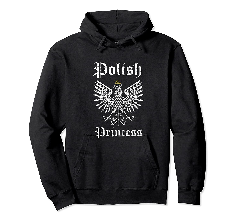 Polish Princess Shirt Girls Polska Pride Poland Shirt Unisex Pullover Hoodie