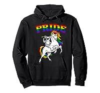 Koala Bear Unicorn Gay Pride Rainbow Q Cute Gift Shirts Hoodie Black