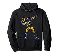 Football Dabbing T Shirt Funny Royal Blue Gold Navy  Hoodie Black