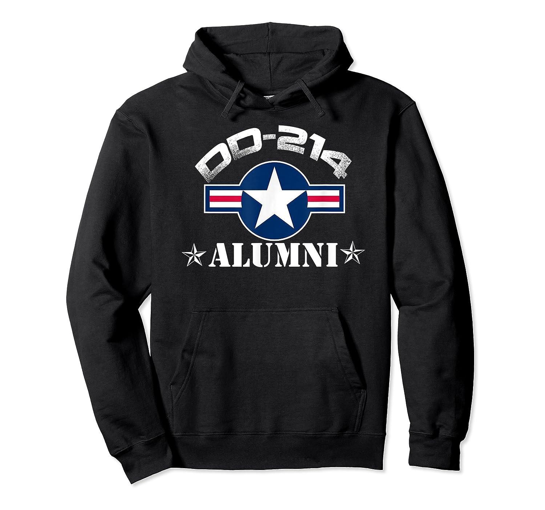 Dd-214 Alumni T-shirt Air Force &  Unisex Pullover Hoodie