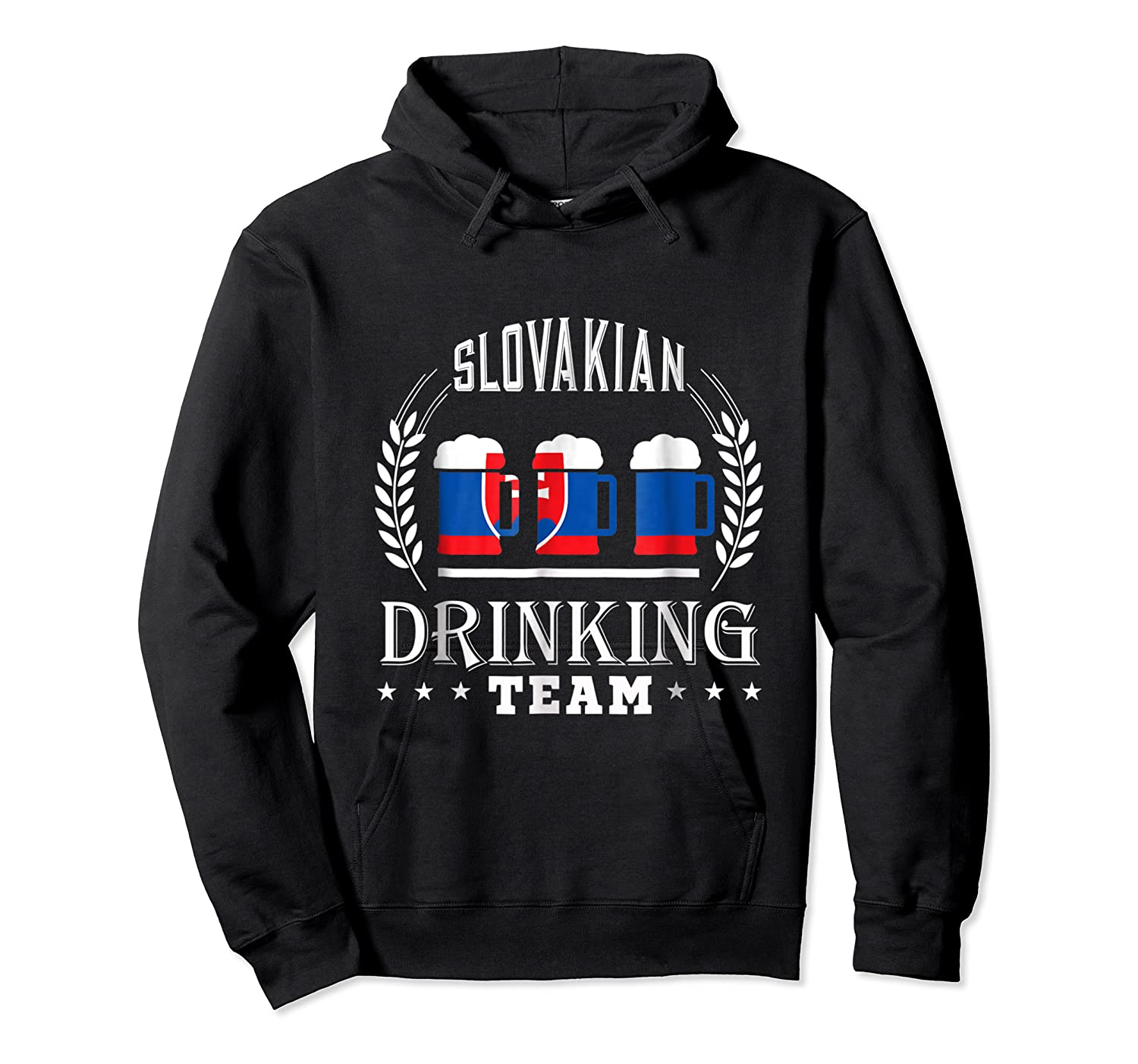 Beer Slovenian Drinking Team Casual Slovakia Flag T-shirt Unisex Pullover Hoodie