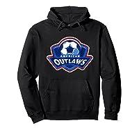 American Outlaw Soccer Game Fan Patriot Shirt Hoodie Black